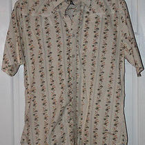 Billabong Hawaiian Shirt Slim-Fit Size M Medium Free Shipping Photo