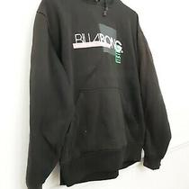 Billabong Hoodie- Size Small in Black 90s Graphic Print Photo