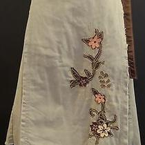 Billabong Khaki Embellished Wrap Skirt/sarong in Ladies Size Medium (M)  Photo