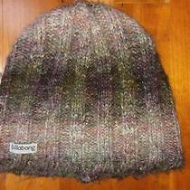 Billabong Knit Beanie Winter Hat Pink Purple Brown Youth Girl Kid Junior Xs  Photo