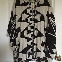 Billabong Knit Open Front Sweater Poncho Juniors/womans Large-Enchanted Ways Photo
