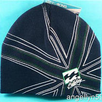 Billabong Knitted Beanie Hat Boys Kids Blue Girls Snow Ski Shogun Cap New Photo