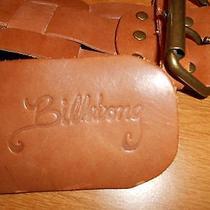Billabong Leather Belt M/l Photo