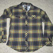 Billabong Men's/youth Flannel Shirt Sz S Mint Condition Photo