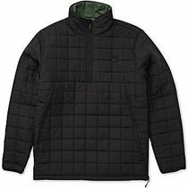 Billabong Mens Jacket Black Size Xl Reversible Puffer Quilted Anorak 99 150 Photo