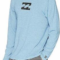 Billabong Mens Shirt Blue Size 2xl Long Sleeve Logo Uva Protection 39- 908 Photo