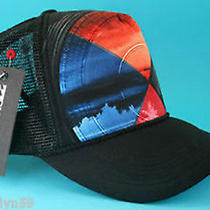Billabong Mens Surfing Cap Boys Pinpoint Black Hat Girls One Size Adjustable New Photo