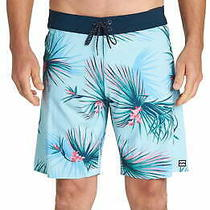 Billabong Mens Swimwear Blue Size 36 Board Shorts Tropical Printed 59 477 Photo