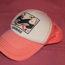 Billabong Mesh Trucker Hawaii Snapback Hat Samon Pink Photo
