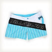 Billabong Modern Blue Shorts Sz 6 Pants Photo