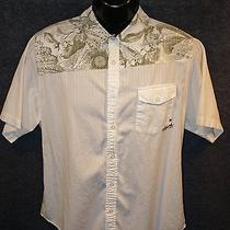 Billabong Neoclassical Art Sport Shirt Sz L Photo