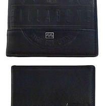 Billabong New in Box Mens Genuine Leather Surf Wallet Set Black  Photo