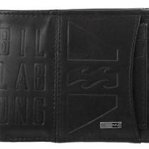 Billabong New in Box Mens Genuine Leather Surf Wallet Set Chocolate Brown Radius Photo