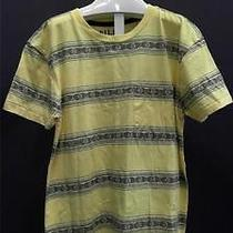 Billabong New S Boys Lemon Short Sleeve Cotton T-Shirt Stripe Chief Crew 1d6n.1 Photo