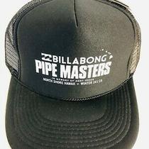 Billabong Pipe Masters Trucker Hat Black Winter 2014/2015 North Shore Hawaii Photo