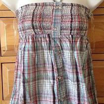 Billabong Plaid Summer Vintage Top Photo