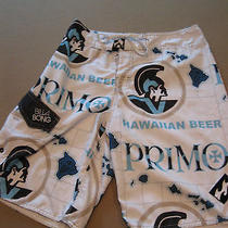 Billabong Primo Beer Hawaii Surf Board Shorts Killer 30 Photo