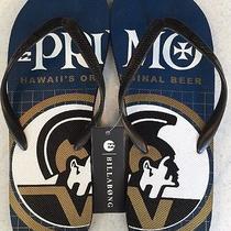 Billabong Primo Hawaii's Original Beer Men's Beach Sandals Sz 13-New Rare Photo