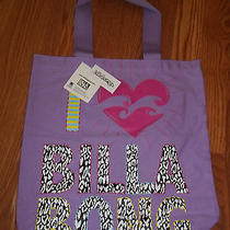 Billabong Purple Jungle Gym Youth Girls Tote Bag Nwt Photo