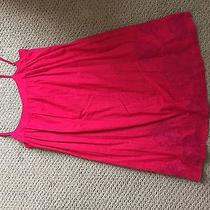 Billabong Red Dress With Embroidery Large Photo