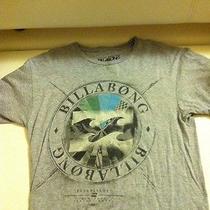 Billabong Shirt Gray With Fish  Photo
