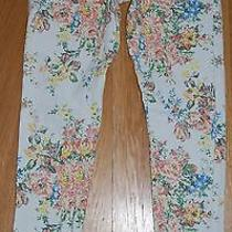 Billabong Size 1 Floral Skinny Jeans Stretch Photo