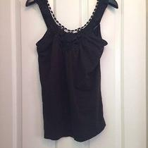 Billabong Solid Black Sleeveless Top Size M Photo