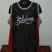 Billabong Surf Jersey Brown Size 2xl Xxl Surfing Tank Top Photo