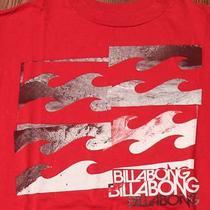 Billabong Surf Surfing Australia Christmas Time Medium Red T-Shirt Photo