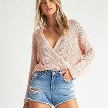 Billabong Sweet Bliss Sweater Barely Blush Photo