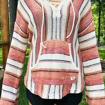 Billabong Tidal Vibes Sweater - Women's - Medium  Hoody With Pouch Long Sleeve Photo