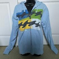 Billabong Unisex Sweatshirt Zip-Up Hoodie - Size Small Photo