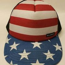 Billabong Usa Trucker Snapback Hat Rare Photo