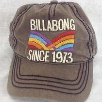 Billabong Vintage/retro Style Gray Snapback Hat Photo