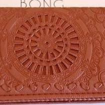 Billabong Wallet Purse Clutch New Gypset Tan Faux Leather Trifold Iphone Surf Photo