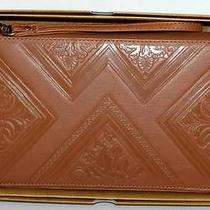 Billabong Wallet Purse Clutch New Ladies Lost Paradise 1  Tan Leather  Iphone Photo