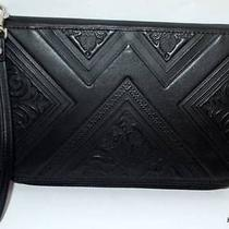 Billabong Wallet Purse New Ladies Lost Paradise 1 Black Leather Logo Iphone Hot Photo