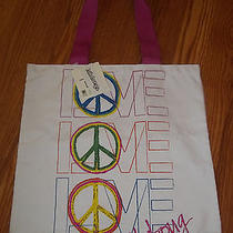 Billabong White Jungle Gym Youth Girls Tote Bag Nwt Photo