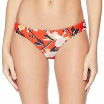 Billabong Women's Fire Eyes Lowrider Bikini Bottom Fire Small Fire Size Small Photo
