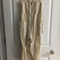 Billabong Women's Jumpsuit Beige Light the Night Belted Size-M. 69 Photo
