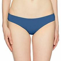 Billabong Women's Swimwear Blue Size Medium M Cheeky Solid Bikini 34 577 Photo