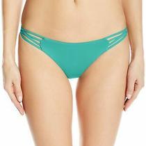 Billabong Women's Swimwear Green Size Small S Bikini Bottom Strappy 34 946 Photo