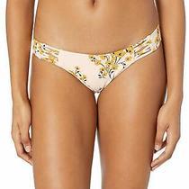 Billabong Women's Swimwear Pink Size Small S Bikini Bottom Floral 44 187 Photo