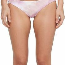 Billabong Women's Swimwear Purple Size Small S Bikini Bottom Tie-Dyed 44 357 Photo