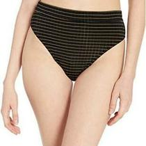 Billabong Women's Warm Days Rise Pant Bikini Bottom Black Pebble Size Medium Photo