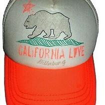 Billabong Womens/ Girls Pitstop Trucker Hat (Coral) Photo