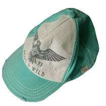 Billabong Womens Hat Free and Wild Teal Baseball Snap Back Cap Ladies One Size Photo
