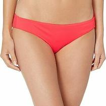 Billabong Womens Swimear Horizon Red Medium M Sol Searcher Bikini Bottom 34 900 Photo