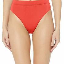 Billabong Womens Swimwear Red Size Large L High Waist Bikini Bottom 40 787 Photo