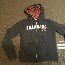 Billabong Youth Boys Hoody Zip-Up Sweatshirt Sweater Size M - Medium - Black Photo